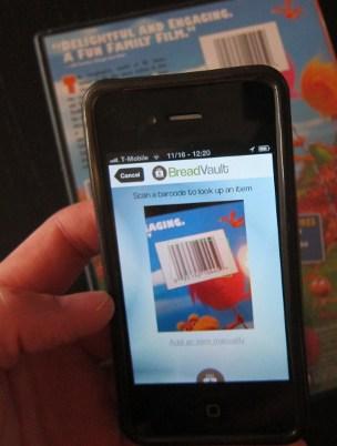 Scan a barcode